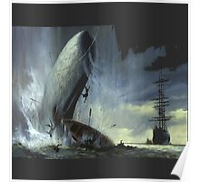 The monsters from in the heart of the sea movie Poster