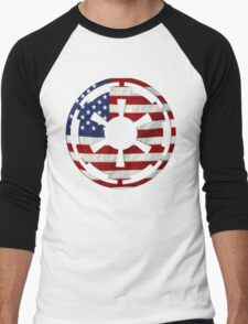 United Empire of America Men's Baseball ¾ T-Shirt