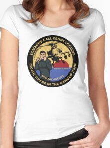 Archer FX - Someone Call Kenny Loggins Women's Fitted Scoop T-Shirt