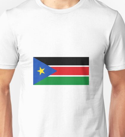 South Sudan Flag Unisex T-Shirt