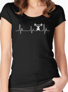 Heartbeat ! Women's Fitted Scoop T-Shirt