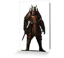 star wars boba fett Greeting Card