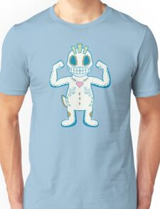 Machop Pokemuerto | Pokemon & Day of The Dead Mashup Unisex T-Shirt