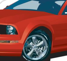 2005 Ford Mustang Sticker