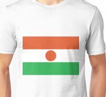 Nigerien Flag Unisex T-Shirt
