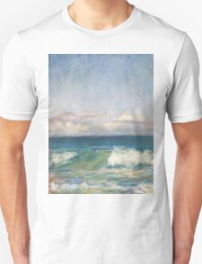 Flynns Beach clouds & waves Unisex T-Shirt