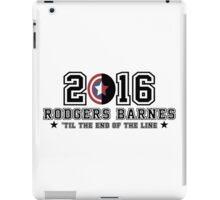 2016 Rodgers Barnes Shirt and Hoodie iPad Case/Skin