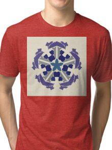 a snowflake for Christmas Tri-blend T-Shirt