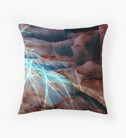 Alaska - Glaciers Throw Pillow