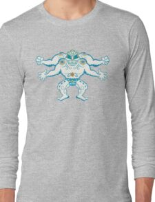 Machamp Pokemuerto | Pokemon & Day of The Dead Mashup Long Sleeve T-Shirt