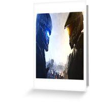 Halo 5 fuckery Greeting Card