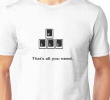 WASD gamers T-shirt Unisex T-Shirt