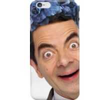Flower Crown Mr. Bean iPhone Case/Skin