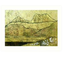 """Cradle Mountain"" Art Print"