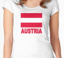 The Pride of Austria Women's Fitted Scoop T-Shirt