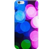 Vibrant Bokeh/Twinkling Lights iPhone Case/Skin