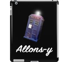 """Allons-y!"" Public Call Box. iPad Case/Skin"