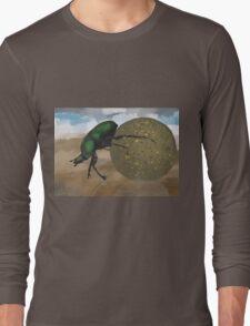 Beetle by Anne Winkler Long Sleeve T-Shirt