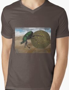 Beetle by Anne Winkler Mens V-Neck T-Shirt