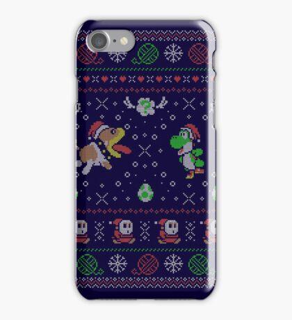 Yoshi's Wooly Wardrobe iPhone Case/Skin