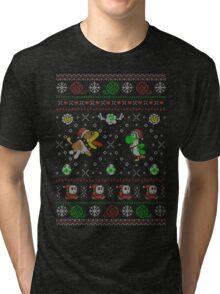 Yoshi's Wooly Wardrobe Tri-blend T-Shirt