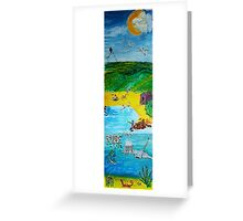 The Seaside Greeting Card