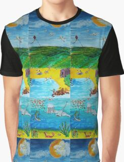 The Seaside Graphic T-Shirt
