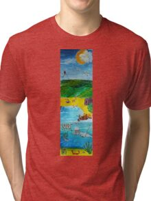 The Seaside Tri-blend T-Shirt