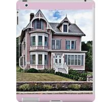 Passing the Pink Victorian House iPad Case/Skin