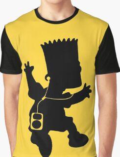 The Simpson - Bart Music Graphic T-Shirt