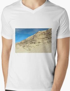 desert sand hill Mens V-Neck T-Shirt