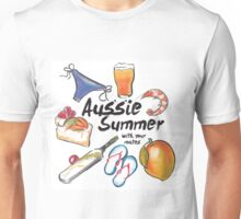 Aussie Summer with your mates Unisex T-Shirt