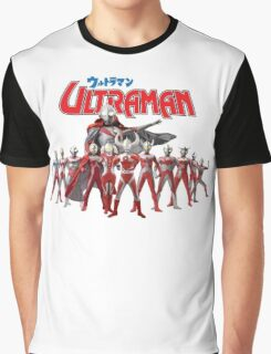 Ultraman Family All Star Version 1 Graphic T-Shirt
