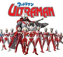 Ultraman Family All Star Version 1 by kyzson69