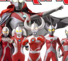 Ultraman Family All Star Version 1 Sticker