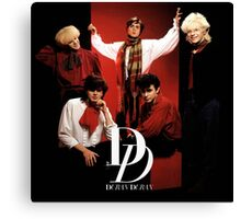 Vintage Duran Duran Band Canvas Print