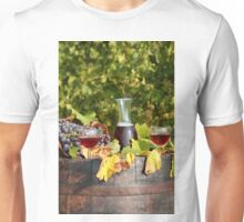 vineyard red wine  Unisex T-Shirt