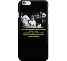 Rocky Quote #1 ITA iPhone Case/Skin