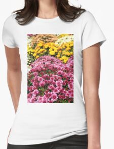 chrysanthemum flower autumn scene T-Shirt