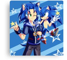 Two Sonics Are Better Than One Canvas Print