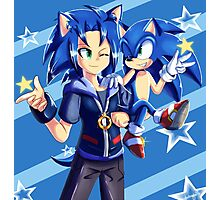 Two Sonics Are Better Than One Photographic Print