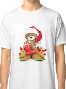 teddy-bear Santa Claus Classic T-Shirt