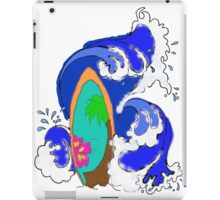 Surf Wave iPad Case/Skin