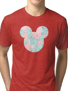 Mouse Ears - Bursting Blossoms Tri-blend T-Shirt