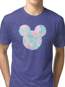 Mouse Ears - Bursting Blossoms Tri-blend T-Shirt