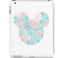 Mouse Ears - Bursting Blossoms iPad Case/Skin