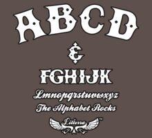 ABCD Alphabet Rocks! One Piece - Short Sleeve