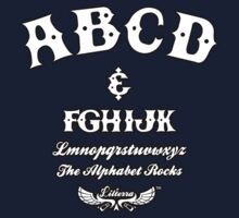 ABCD Alphabet Rocks! Kids Tee