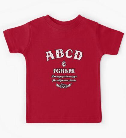 ABCD Alphabet Rocks! Kids Tee
