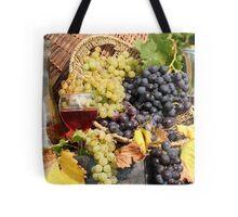 grape and wine  Tote Bag